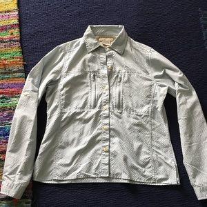 Exofficio button down shirt size S/P